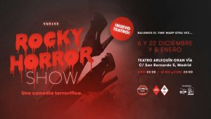 rocky horror show musical madrid