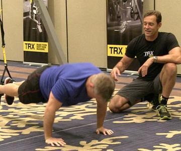 Video de entrenamiento TRX para seguir en casa