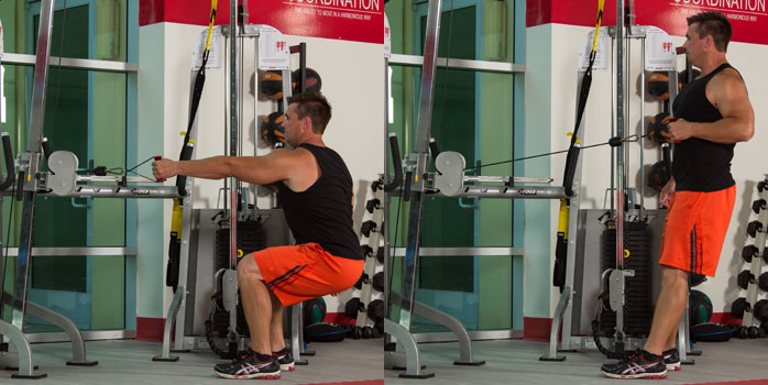 Standing Cable Single-arm Row