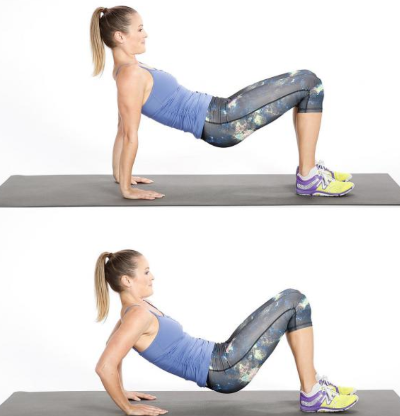 ejercicios triceps mujer