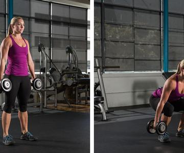 Entrenamiento con pesas, ¿aumentamos el volumen de nuestros músculos?