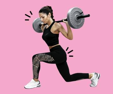 Entrenamiento con pesas saludable